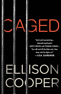 Cover for Ellison Cooper's Caged
