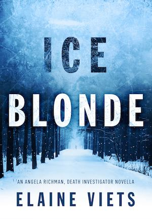 Cover for Ice Blonde, novella by Elaine Viets