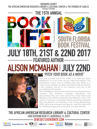 Book Life Event Poster July 22, 2017