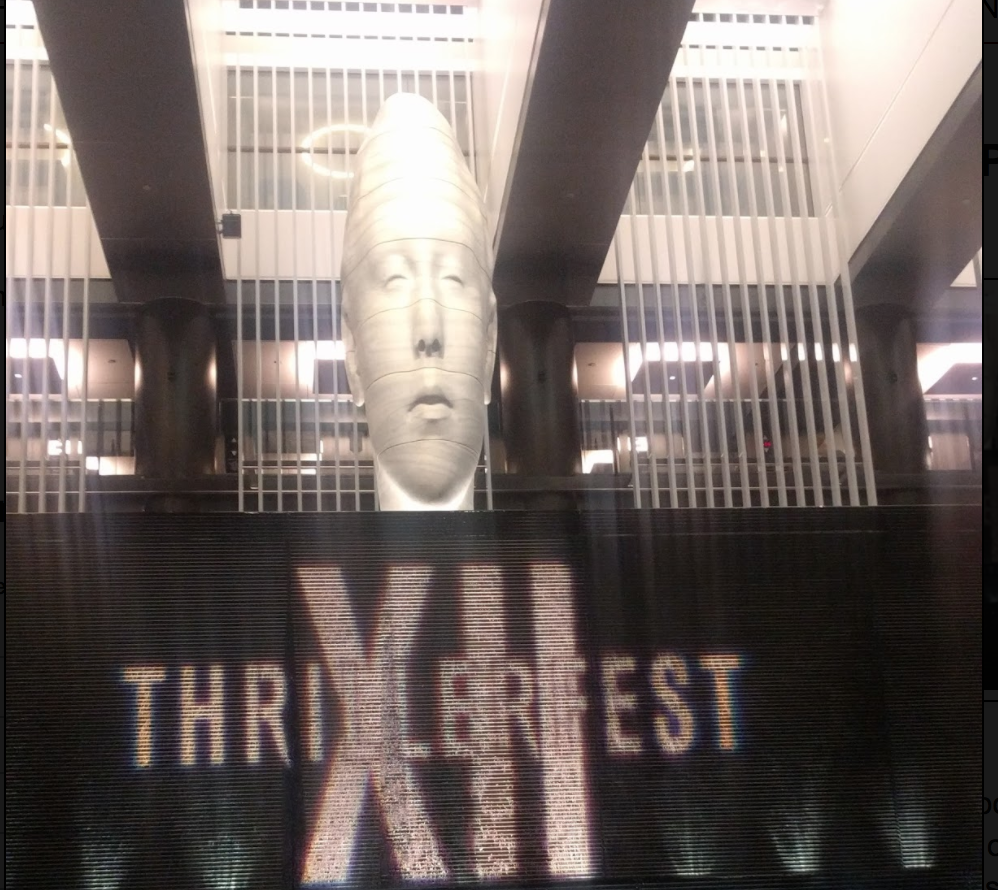 The Lobby at the Thrillerfest Hotel in NYC