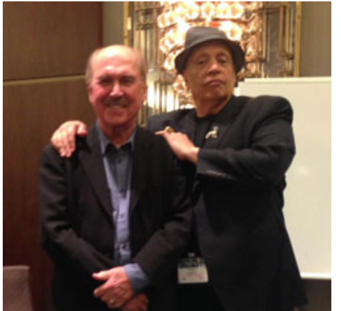 David Morrell and Walter Mosley at Thrillerfest
