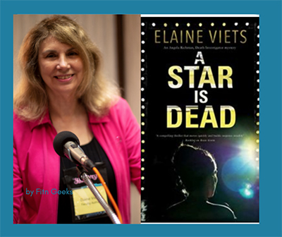 Elaine Viets, Cover of A Star is Dead