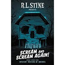 Cover for Scream and Scream Again,edited by  R.L. Stine