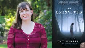 Cat Winters Author Foto and Uninvited Book Cover